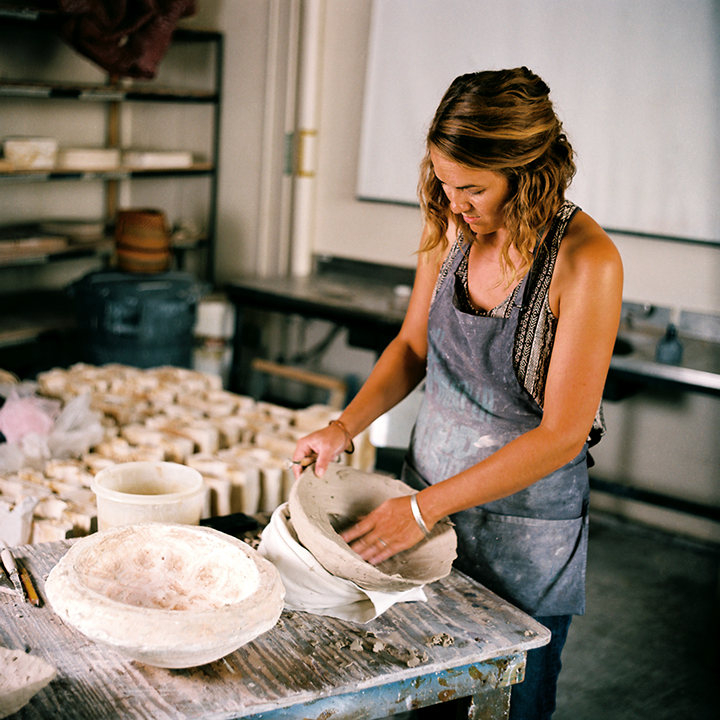 Landis - Artist At Work - Association of Clay and Glass Artists of California