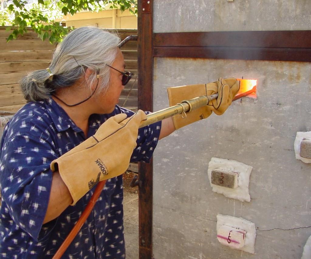 Joy Imai: Soda Spraying - Association of Clay and Glass Artists of California