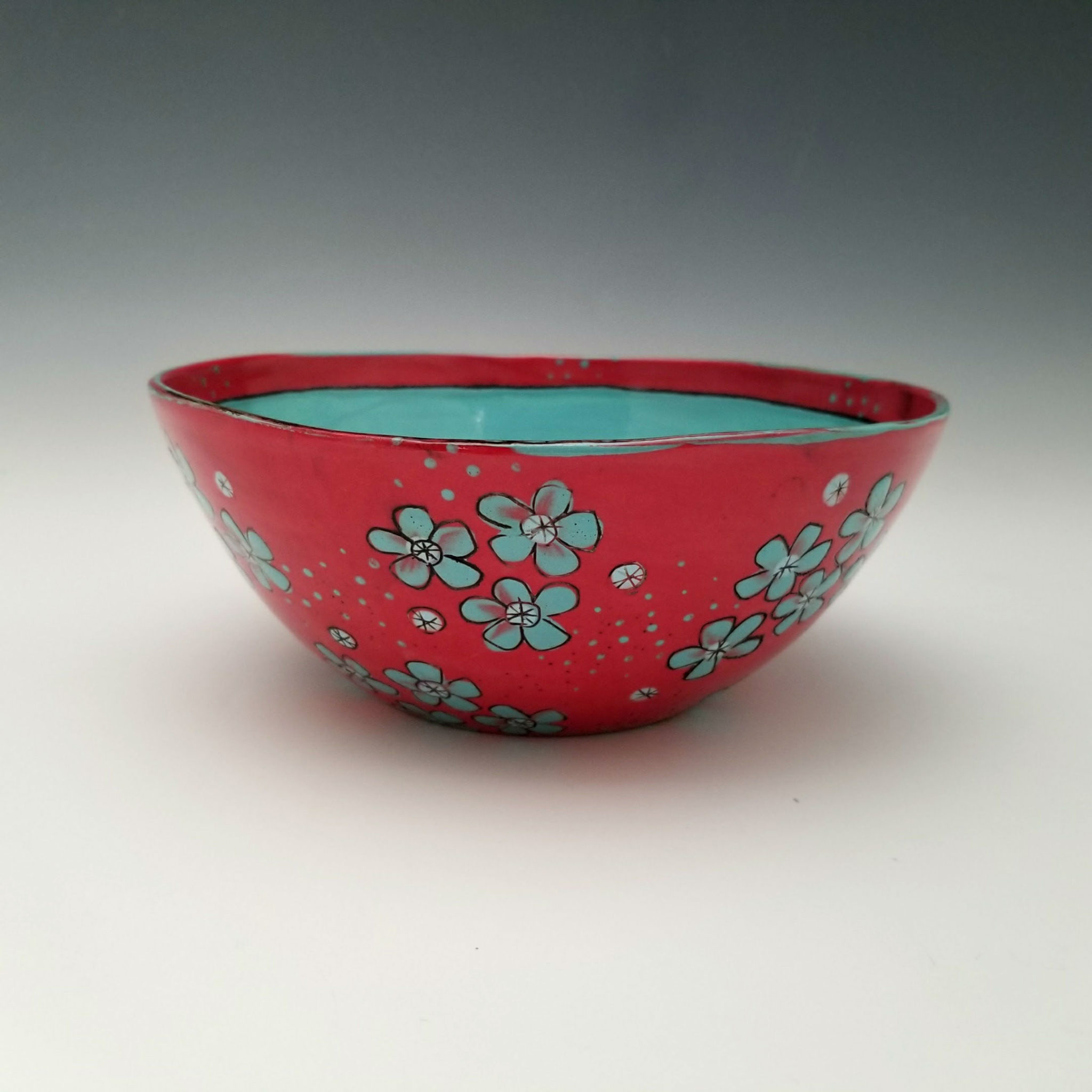 Whitney Smith-Red Blossom Bowl