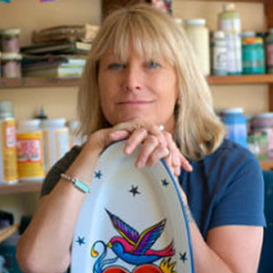 Jacqueline hompson Clay Artist - Board Member ACGA
