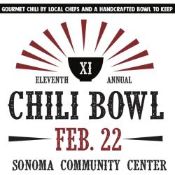 Chili Bowl Fundraiser at Sonoma Community Center