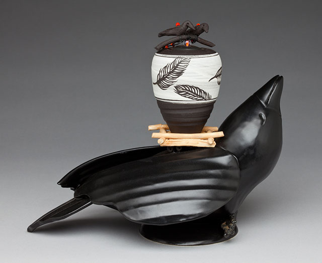 Barbara Sebastian Ceramic Artists ACGA Artist of the Month