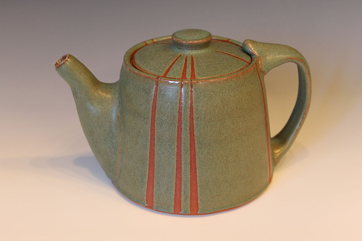 Margaret Norman - Teapot - 2020 ACGA Ceramics in Focus