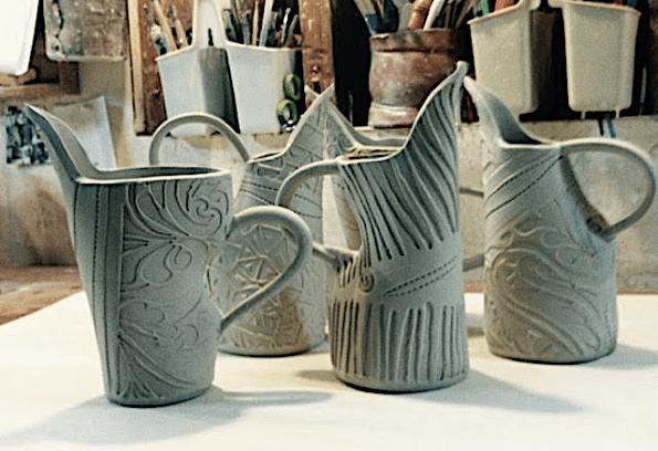 Lynn Wood Video Workshop - Texture Slab Vase - May 2020
