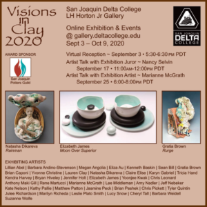 Visions in Clay - San Joaquin Delta College 2020